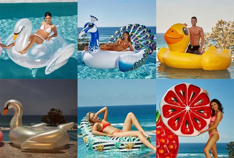 buy trendy pool floats inflatable swan australia clark rubber