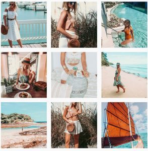 boho beach fashion instagram theme the daily luxe