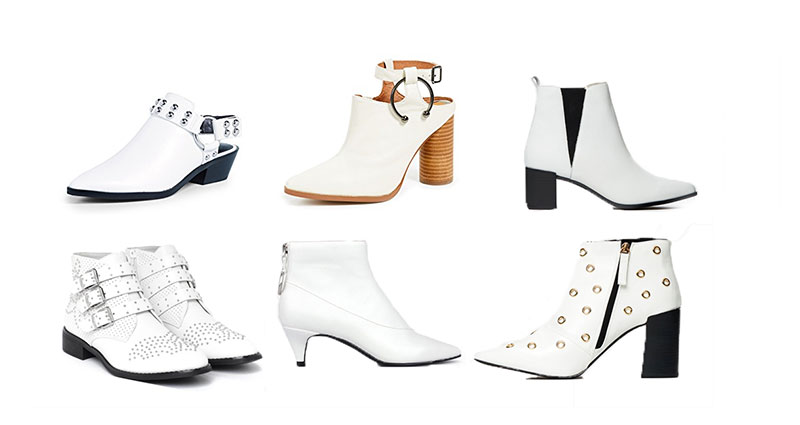 How To Style White Ankle Boots