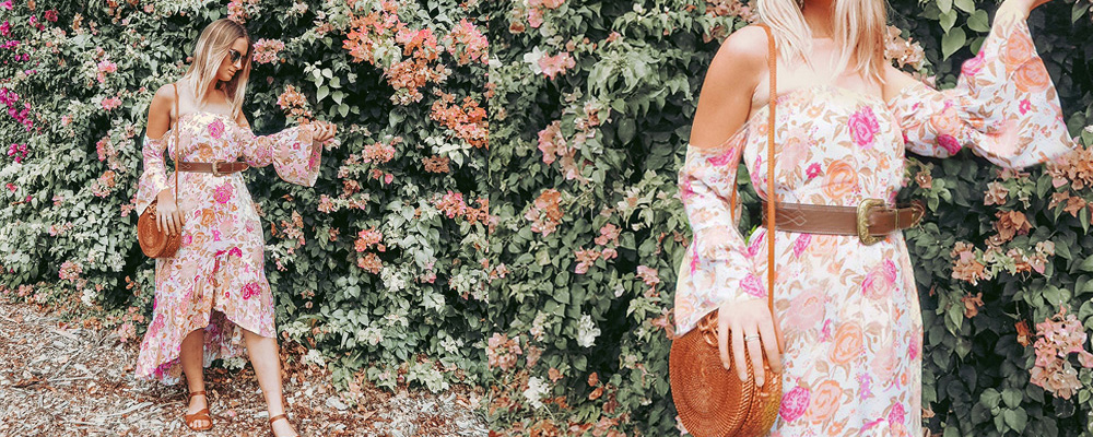 Mahiya Vintage Rose: The Perfect Boho Floral Print